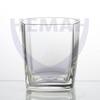 Набор стаканов для напитка 250гр  из 6-ти штук (широкие) бесцв.с