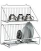 Подставка для сушки посуды пс-1 подвесная ц/п 408х275х484