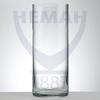 Ваза цилиндр  бесцв.стекло h-300 мм гладь хол.отр.7017 100/1
