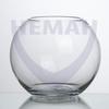 Ваза шар  бесцв.стекло d-220 мм гладь хол.отр.5595 100/1