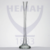Ваза для цветов бесцв.стекло h-400 мм  гладь,хол.отр.7575 100/1