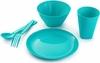 Набор посуды для детей (бирюза)