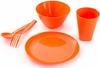 Набор посуды для детей (мандарин)