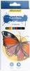 Карандаши цветные 12 цветов бабочки шестигранные, картонная коро