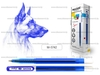 Ручка шариковая sigma синяя на маслянной основе игольч пишущий у