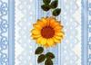 Клеенка столовая  на тканой(вискозной)основе  1,3м*25м кружева