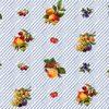 Клеенка столовая  на тканой(вискозной)основе  1,3м*25м  фруктово