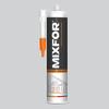 Герметик mixfor universal silicone белый 280 мл