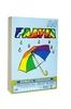 Бумага для офисной техники цветная радуга 250л а4