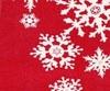 Клеенка столовая на тканой(вискозной)основе 1,3м*25м  снежинки