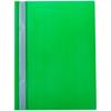 Папка-скоросшиватель пластик а4 зеленый с прозрачн верхом