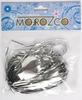 Мишура дождик серебро , 1,5м  шир.100мм  д101501  изгот.пк пласт