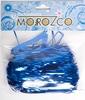 Мишура дождик синий 1,5м  шир.100мм  д101503  изгот.пк пластинду