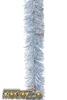 Мишура  праздничная серебро 2м   d-35  м1071  изгот.пк пластинду