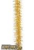 Мишура  карусель  золото  2м  м1702  изгот.пк пластиндустрия