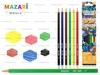 Карандаши цветные 6цветов joy art