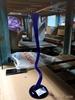 Ваза для одного цветка цветной хрусталь(синий) ц6293/1