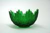 Ваза для конфет цветной хрусталь(зеленый) цз5489/1
