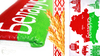 Полотенце махровое 75*150 privilea рис  цвет красный 1с
