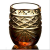 Набор стаканов д.вина 35 г янтарный хрусталь  5108 900/282