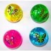 Мяч световой с бабочкой 6,5см