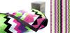 Полотенце махровое privilea рис зигзаг (салатовый) р-р50*90 1с