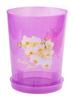 Горшок цв для орхидей 3,5л (прозрачно-фиолетовый)
